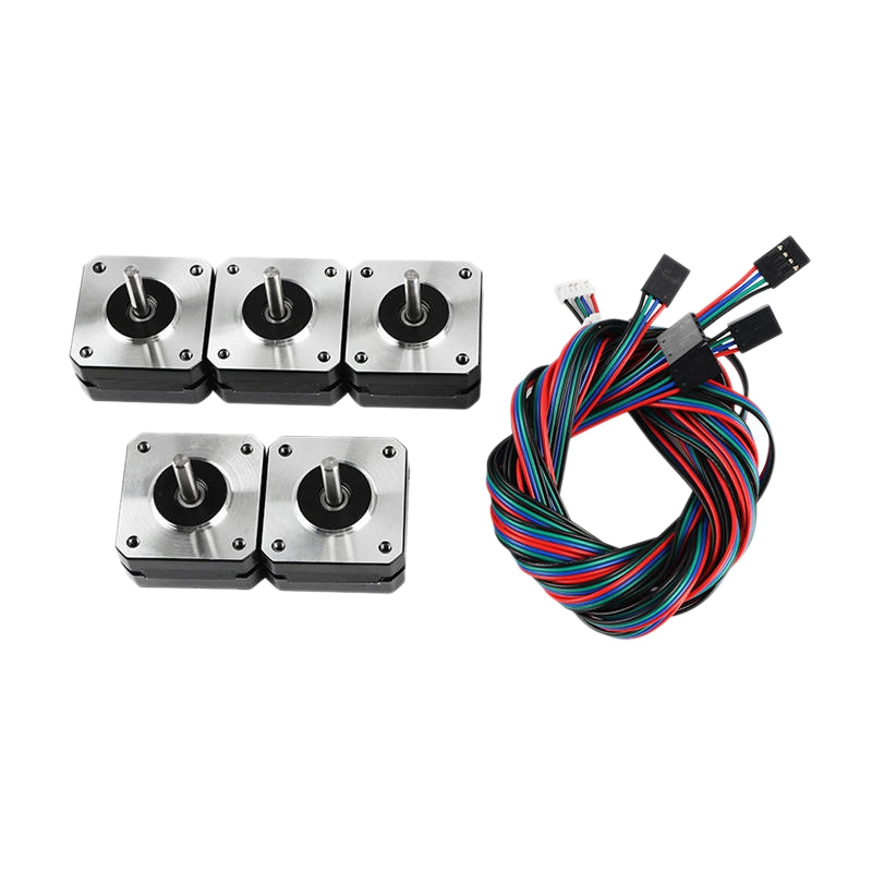 5Pcs 17HS4023 42x42x23mm Stepper Motor with Cable for 3D Printer Part|Printer Parts| |  - title=