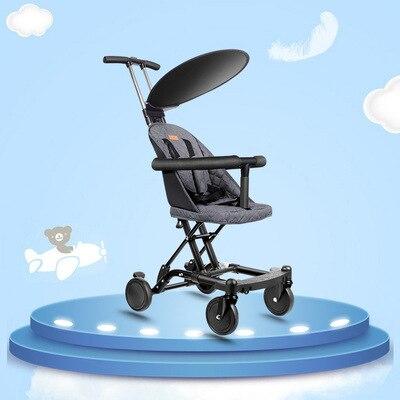 2019 novo carrinho de bebe dobravel luz 04