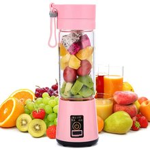 500ML Portable USB Electric Fruit Juicer Handheld Smoothie Maker Blender Rechargeable Mini Portable Juice Cup Water
