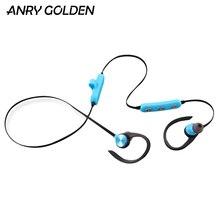 ANRY Bluetooth Headphones Waterproof Wireless Sport Earphones HiFi Bass Stereo Ear Hook Earbuds w/Mic Noise Cancelling Headset цена и фото