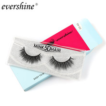 1 Pairs 3D Faux Mink Hair Soft False Eyelashes#5d-40 Fluffy Wispy Thick Lashes Handmade Soft Eye Makeup Extension Tools(China)
