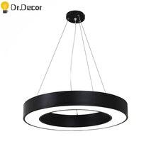 Modern Round LED Pendant Lights Nordic Kitchen Restaurant Pendant Lamp Acrylic Hanglamp Living Home Decor Room Light Fixtures