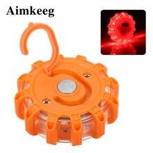 Aimkeeg 15 светодиодов s Водонепроницаемый светодиодный аварийный