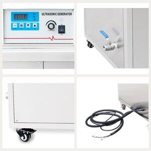 Image 4 - Przemysłowa maszyna do czyszczenia ultradźwiękowego DPF metalowy silnik części olej do odtłuszczania rdzy regulacja temperatury mocy ultradźwiękowa maszyna czyszcząca