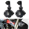 2 шт. 40 Вт Светодиодный вспомогательный точечный противотуманный светильник 6000 К для мотоциклов BMW K1600 R1200GS KTM Kawasaki Универсальные мотоциклы