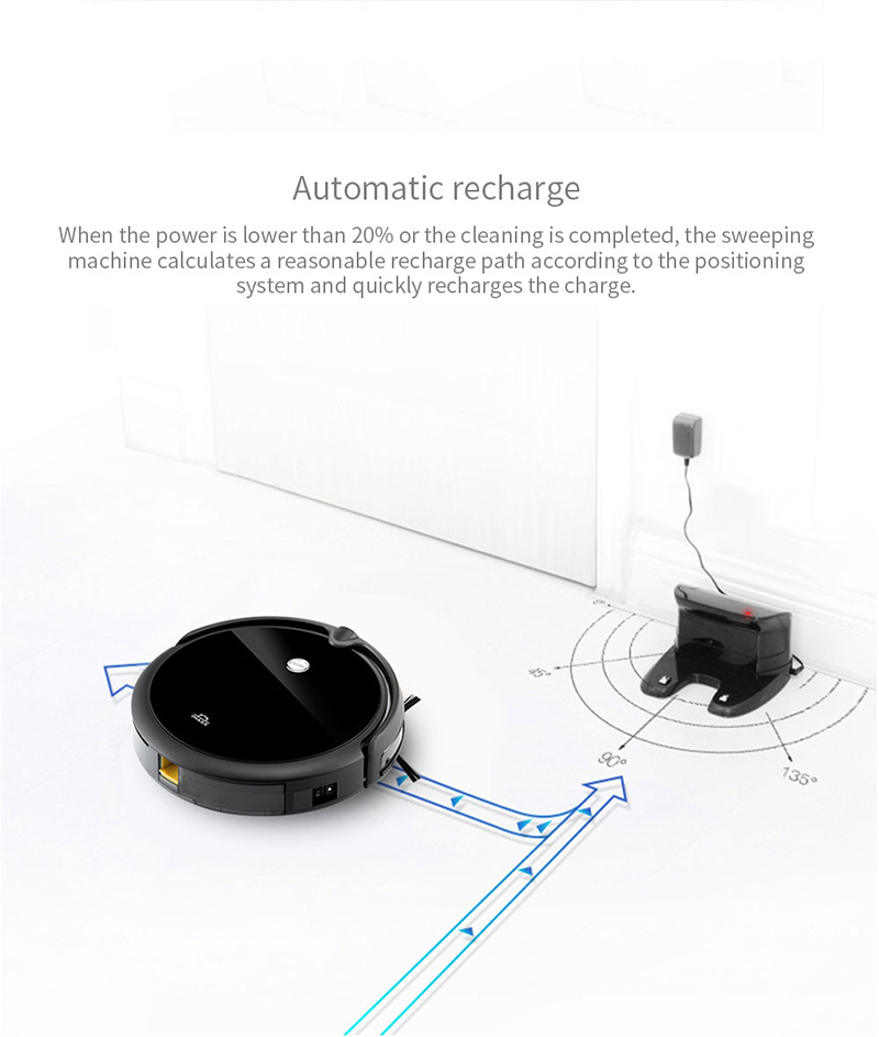 Hc61a0bf48146440bae2cff0767d65509c IMASS A3S Robot Vacuum Cleaner Powerful Suction For Camera Navigation Various Cleaning Mode With APP Control Auto Charge Mopping