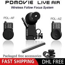 PDMOVIE relacja żywo powietrze 2 Bluetooth bezprzewodowy Follow Focus System kontroli dla Zhiyun żuraw 2 3 DJI Ronin S obiektyw lustrzanki cyfrowej