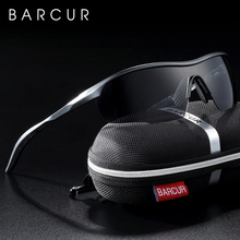 BARCUR Sports Aluminum Magnesium Mens Sunglasses Women Sun glasses Polarized Anti Reflective shades oculos de sol feminino
