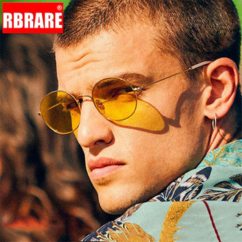 RBRARE New Arrival 2019 Women Sunglasses Retro Metal Oval Men Candy Color Transparent Sun Glasses Vintage Shades