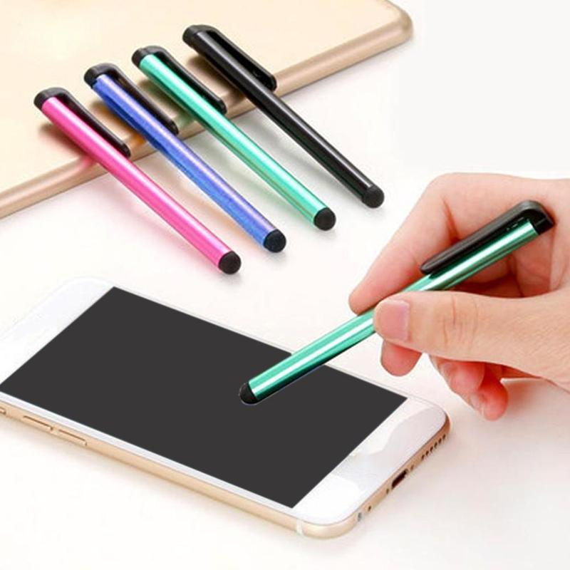 10pcs/lot Capacitive Stylus Pen For IPhone IPad IPod Touch Suit For Other Smart Phone Tablet Metal Stylus Pencil Tablet Pen