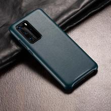 Leather PU Phone Case For Huawei P40 Pro P40 P30 Mate20 Mate30 Pro Mate20 RS Ultra-Thin Back Cover For Huawei P40 P30 Coque Capa for cover huawei p40 case huawei p40 coque protective stylish smooth skin pc matte ultra thin phone case for huawei p40 cover
