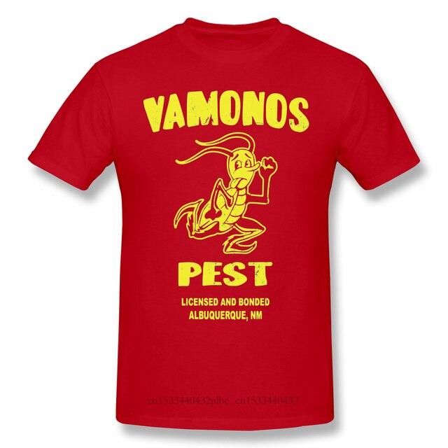 Yeni S Albuquerque siyah T Shirt daha iyi çağrı Saul James Cromwell Homme T-Shirt Tees saf büyük boy kısa kollu