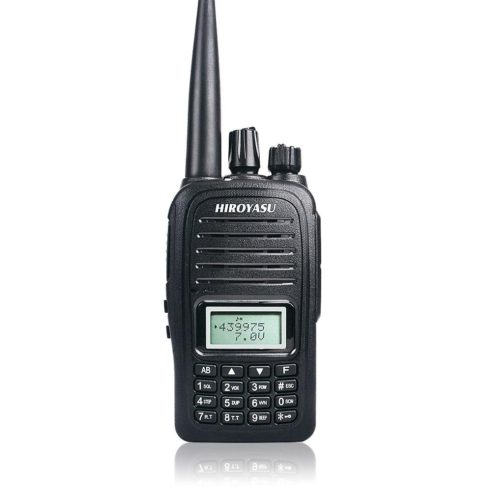 Waterproof Walkie Talkie IP67 Dual Band Talkie Walkie UHF VHF FM Two Way Ham Radio For Hiking, Camping,outdoor Adventure