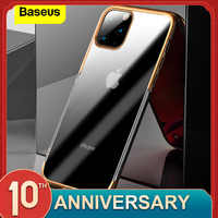 Baseus Luxury Plating Case For iPhone 11 Pro Max Case Hard PC Back Cover For iPhone XI XIR XS MAX Protective Case Couqe Fundas