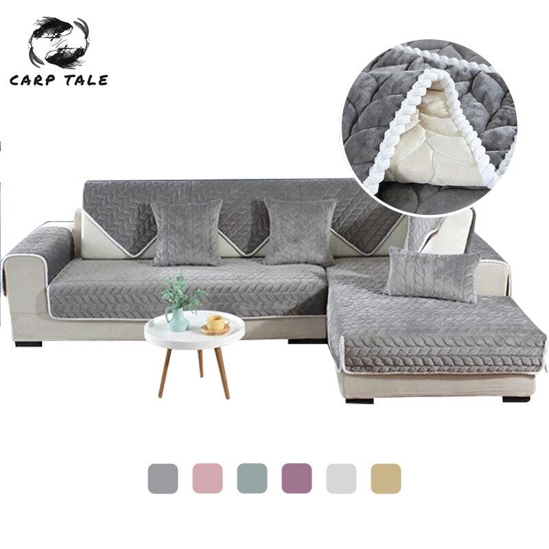 Padrão sólido liso slipcovers capa de sofá estiramento capas de sofá para sala de estar sofá capa de sofá de toalha cadeira funda sofá