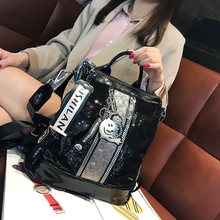 Женский рюкзак с блестками новинка сезона осень зима 2020 из