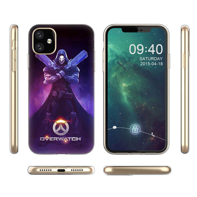 Hot Overwatch ow Game Soft Silicone Transparent Case for Apple iPhone 11 Pro XS Max X XR 6 6s 7 8 Plus 5 5s SE Fashion Cover