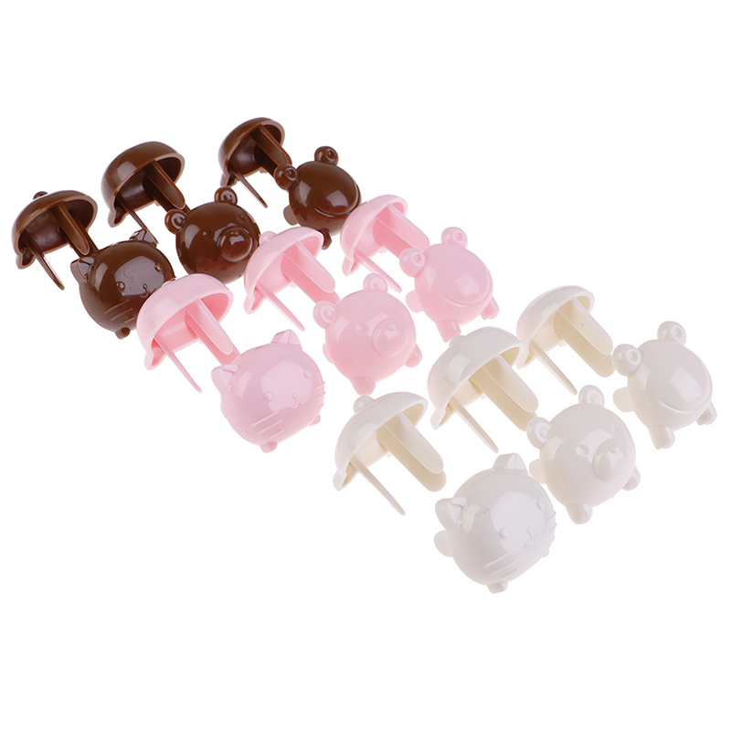 6 Pcs/lot Socket Cap Baby Safe Protection Electric Plug Protector Children Anti Shock Wholesale