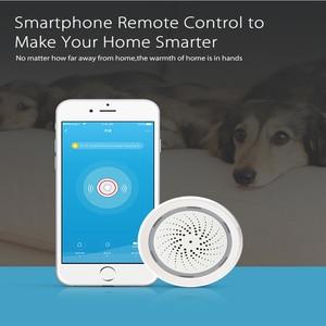 Image 5 - Датчик температуры и влажности с Wi Fi, датчик окружающей среды с сигнализацией, питание от USB, работает с Alexa Echo Google Smart Home IFTTT