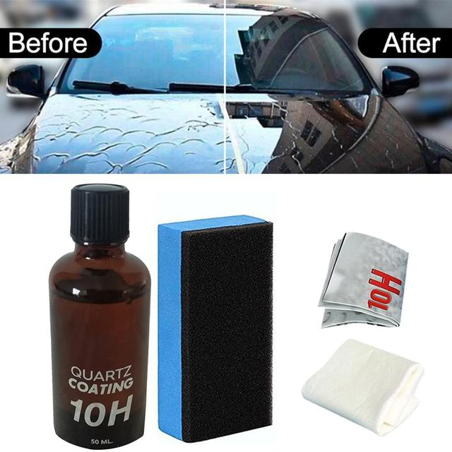 1PC 30ML High Gloss 10H Hardness Ceramic Car Coating Kit Anti-scratch Car Polish Exterior Care Paint Sealant 2