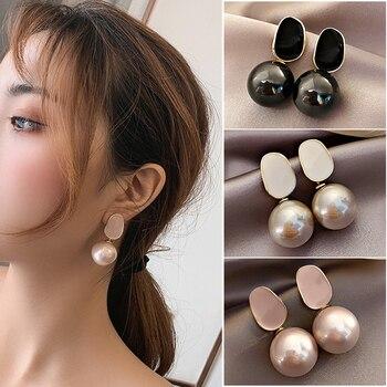 New Style Knot Pearl Earrings Jewelry Pearl Jewelry