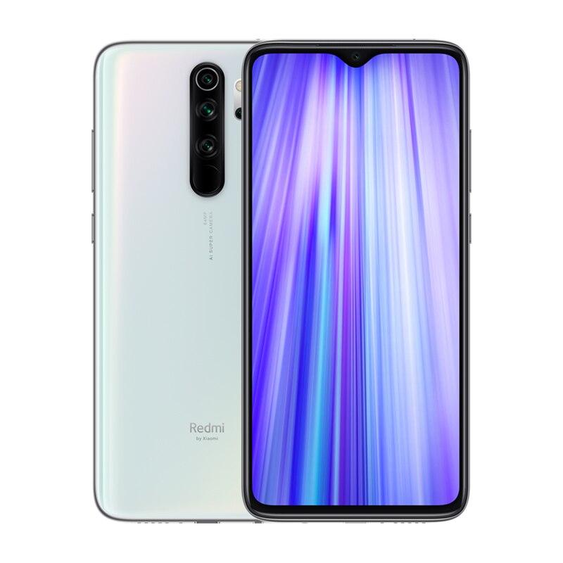 Мобильный телефон Xiaomi Redmi Note 8 Pro с глобальной версией, 6 ГБ, 64 ГБ, четырехъядерный смартфон MTK Helio G90T, четыре ядра, 4500 мАч, NFC - Цвет: White