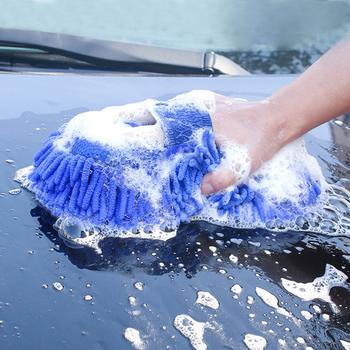 1 2 sztuk koral gąbka myjnia samochodowa gąbka do czyszczenia pielęgnacja samochodu Detailing szczotki gąbka do mycia Auto rękawiczki stylizacji środki czystości tanie i dobre opinie MIHJUSFDH CN (pochodzenie) Gąbki Tkaniny i szczotki Polyester + Sponge