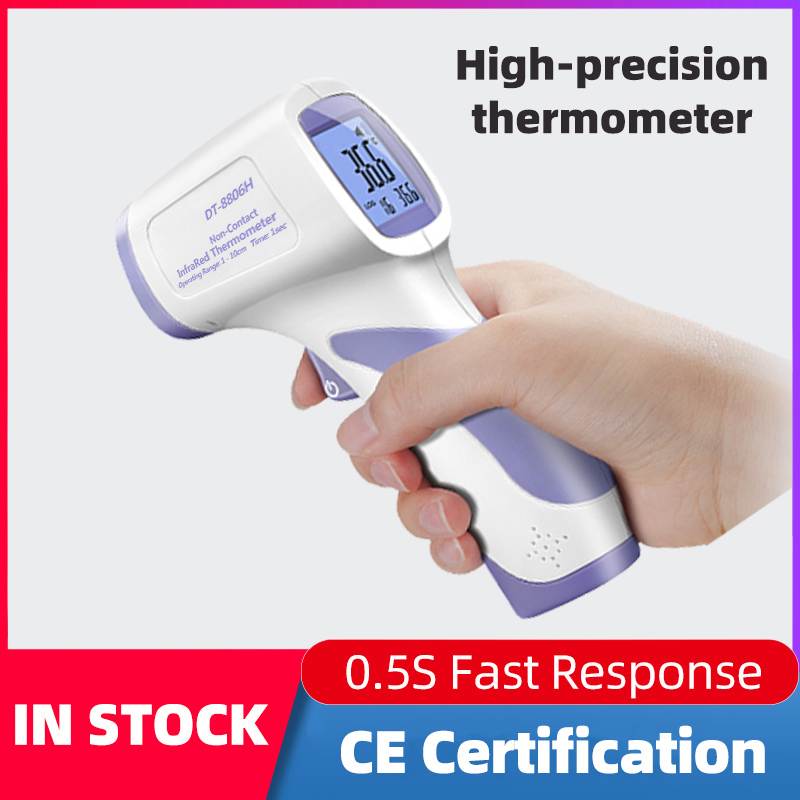 CEM Infrared Digital Thermometer No-contact Infrared Thermometer Body Thermometer Baby/Adults Forehead Thermometer