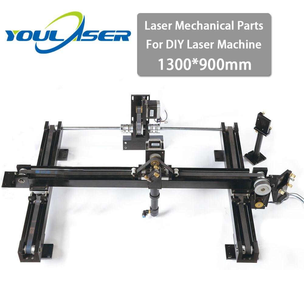 Co2 DIY Laser Cutter Set 1300*900mm Size Mechanical Laser Spare Parts Kit