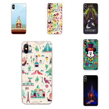 Mouse Minnie Parks Cartoon For Huawei Honor 5C 5X 6A 6X 7 7A 7X 8 8A 8S 8X 9 10 30 Lite Pro Y6 II Y7 Y9 Prime 2019 image