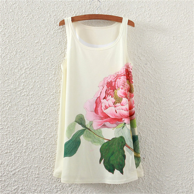 Women Fashion T Shirt  Graphic Print Harajuku Kawaii Cute Style Long Sleeveless Top Drop Shipping For 2020 Spring Summer