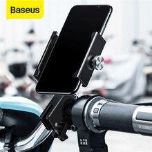 Baseus-Soporte de teléfono para bicicleta, montaje de rotación de 360 grados para iPhone 11 X XS Samsung S9 S10