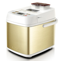 Automatic Fruit Sprinkled Electric Bread Making Machine Home Multifunctional Smart Cake Bread Maker LED Toching Screen