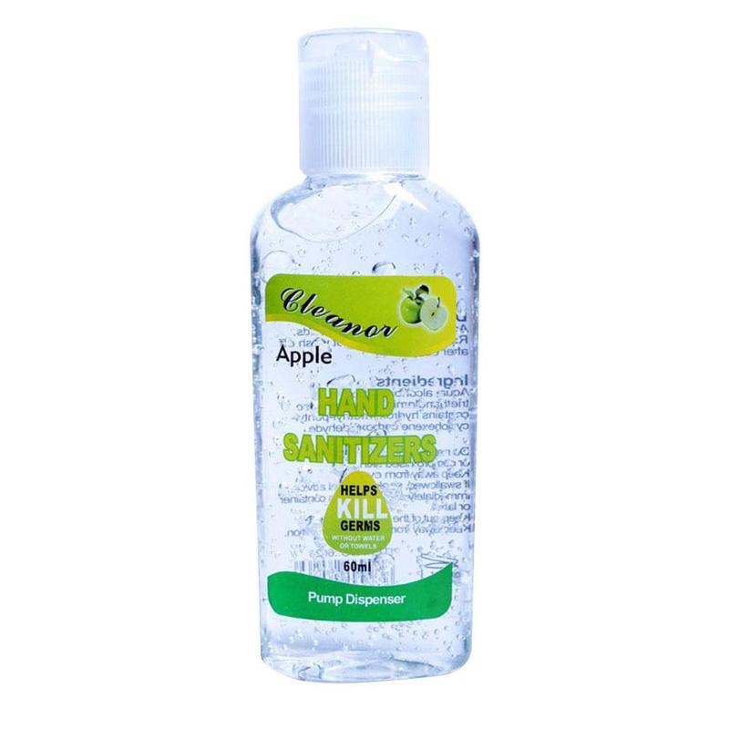 60ml Fruit Alcohol Disposable Hand Sanitizer Hands-free Water Disinfecting Hand Wash Gel Helps Kill Germs Quick-drying