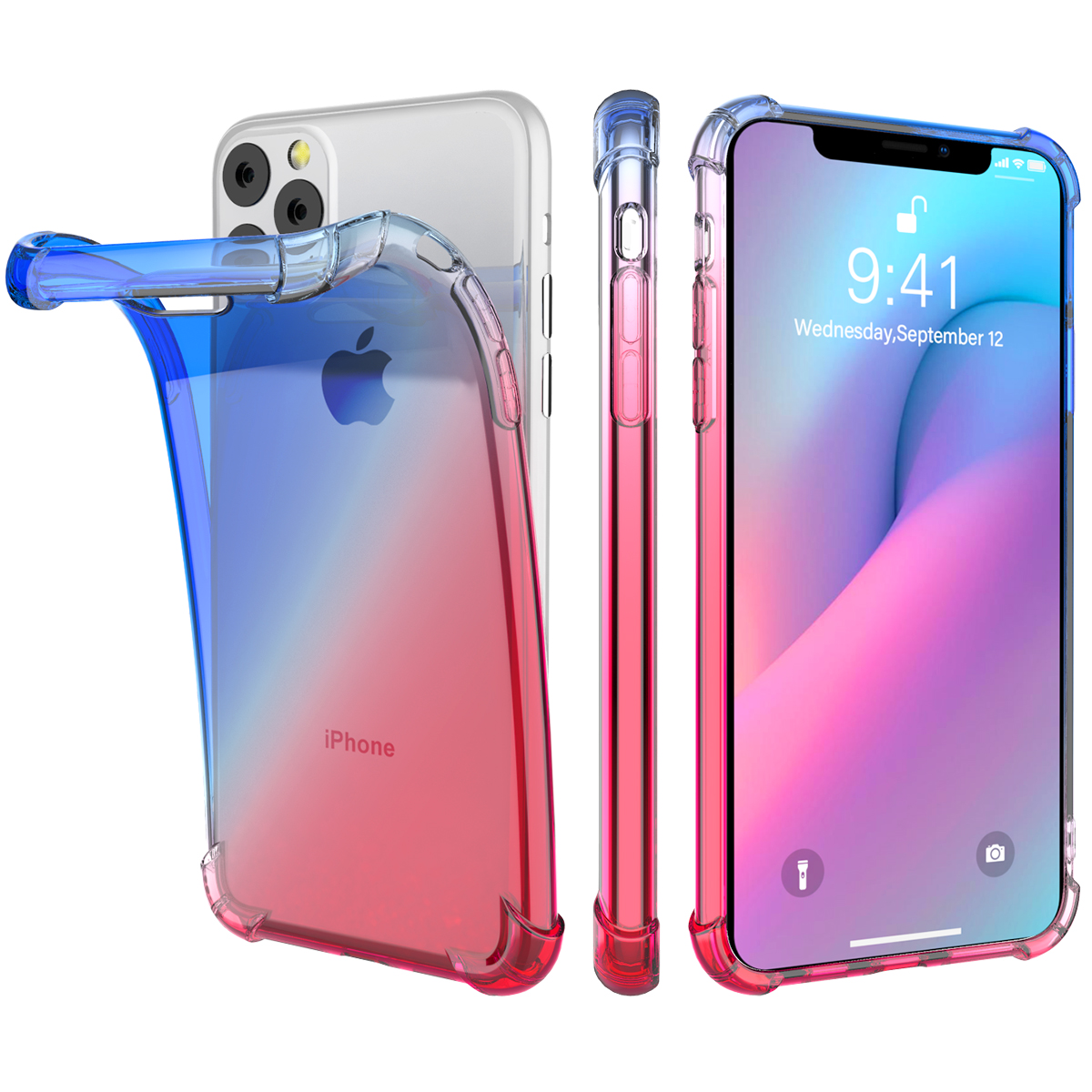 Gradient Soft TPU Case for iPhone 11/11 Pro/11 Pro Max 16