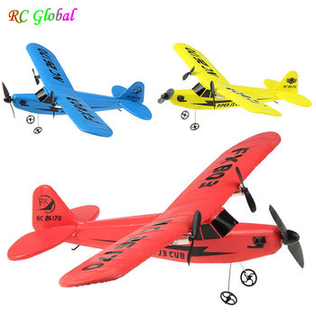 RC Electric Airplane Remote Control Plane RTF Kit EPP Foam 2.4G Controller 150 Meters Flying Distance Aircraft Global Hot Toy kf606 2 4ghz rc airplane flying aircraft epp foam glider toy airplane 15 minutes flight time rtf foam plane toys kids gifts