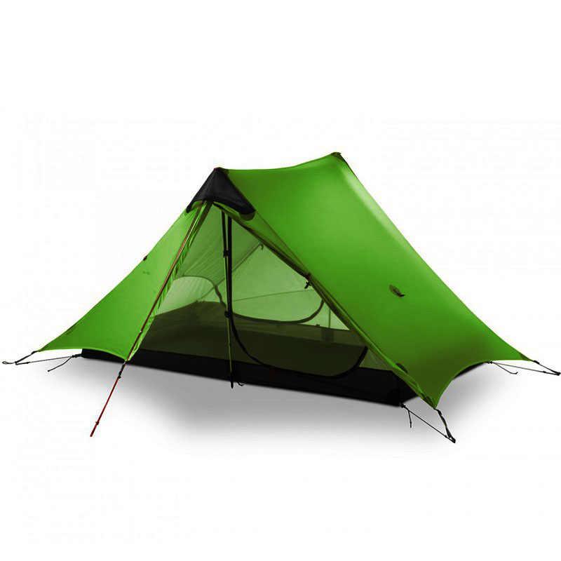 LanShan 2 3F UL biegów 2 osoby na świeżym powietrzu Ultralight kemping namiot 3 sezon profesjonalny 15D Silnylon sztoku namiot 4 sezon