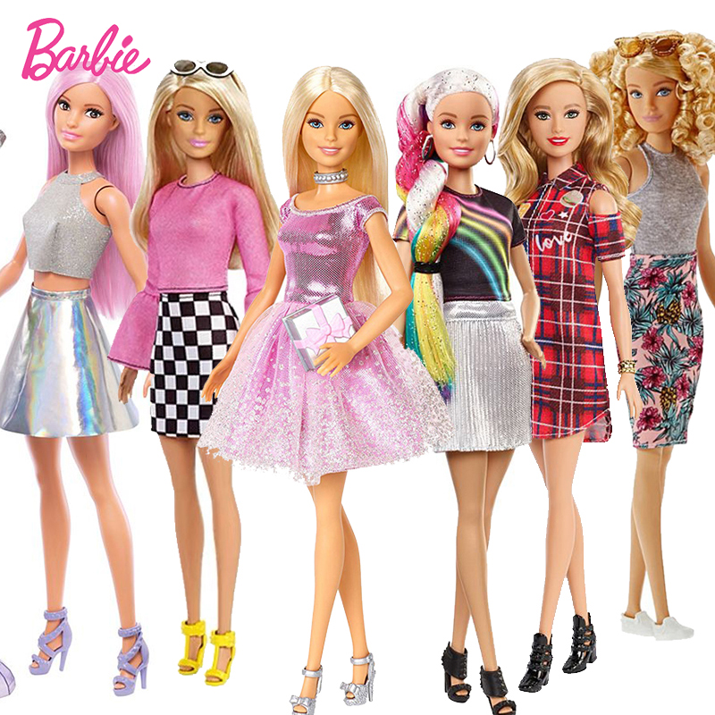 Original  Pop Star Barbie Doll Toy Girl Birthday Present Girl Brinquedos Bonecas Kids Toys For Kids Juguetes Paratoys Girls Gift