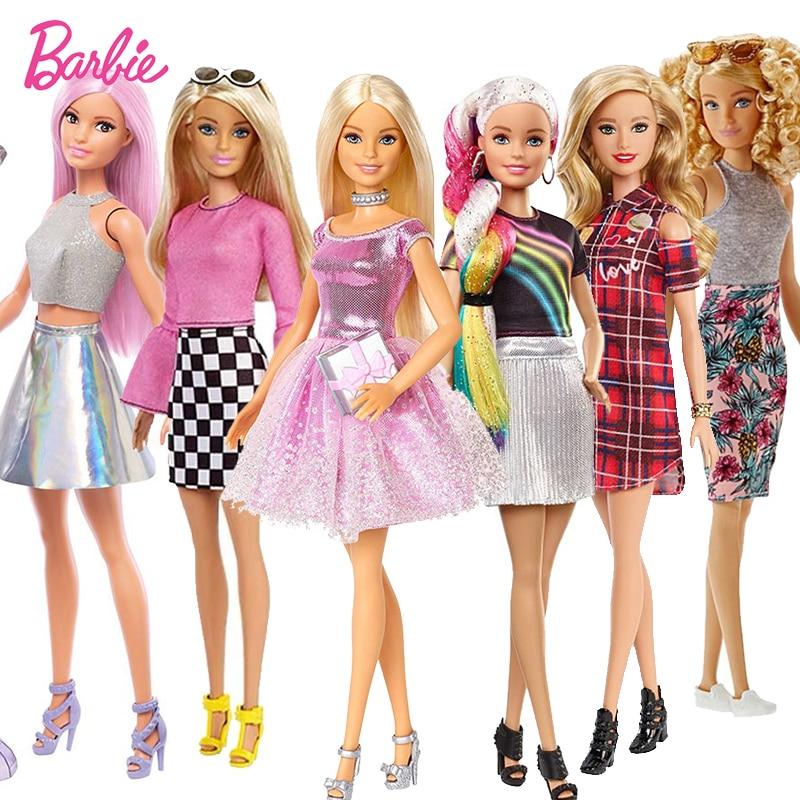 Original  Pop Star Barbie Doll Toy Girl Birthday Present Girl Brinquedos Bonecas Kids Toys For Kids Juguetes Paratoys Girls Gift