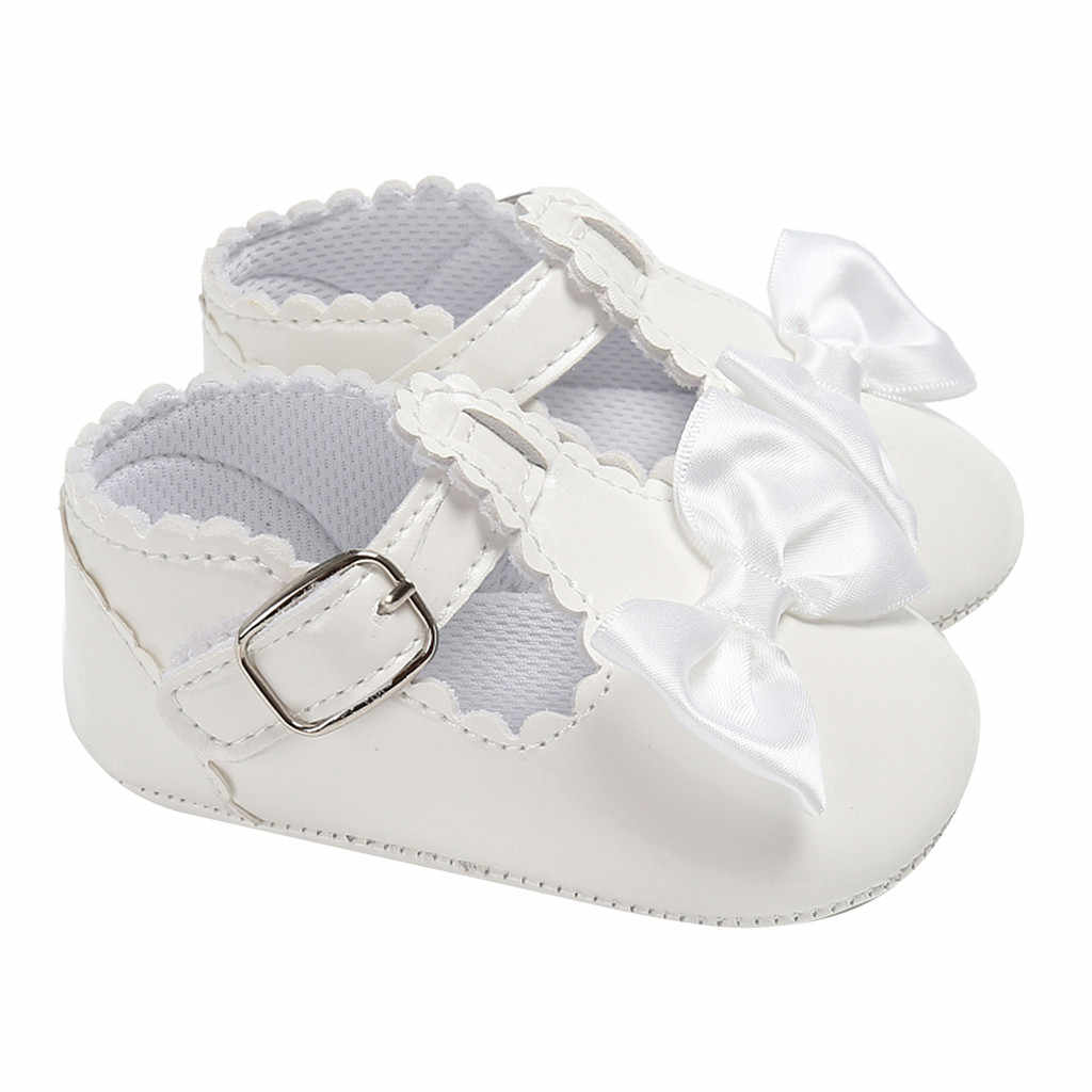 Baby Girl Shoes 2020 Soft Sole Prewalker Bow Bright Side Kids Shoes Kids Sandals Sandalias Детская Обувь Zapatos Nina Пинетки