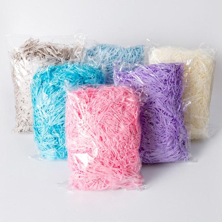 1 кг/Сделай сам бумажная рафия шелк нарезанная бумага Конфетти свадебный подарок на Новый год Подарочная коробка пломбировочный материал у...