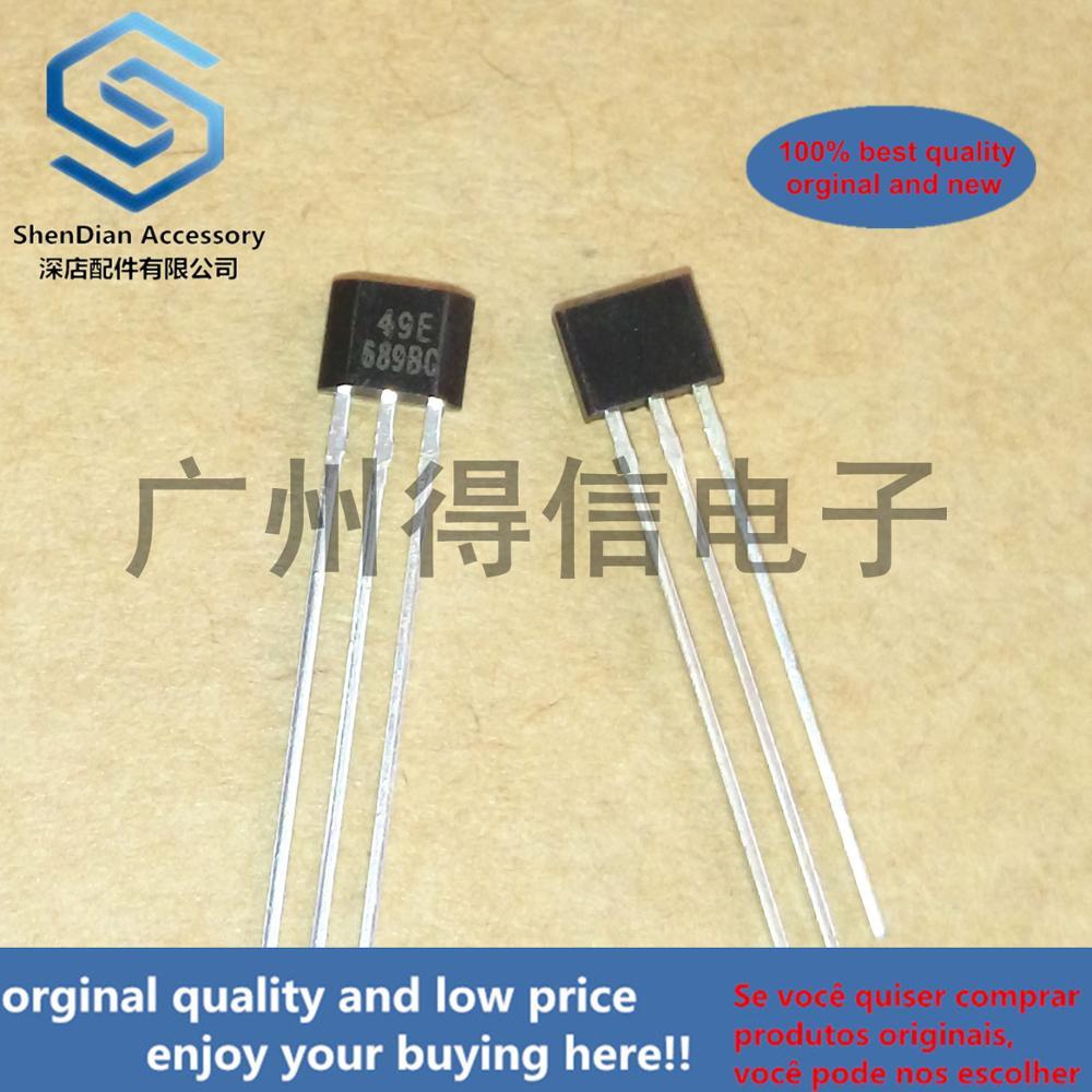 10pcs 100% Orginal DX49E Silk-screen 49E 3~6.5V TO-92S Real Photo