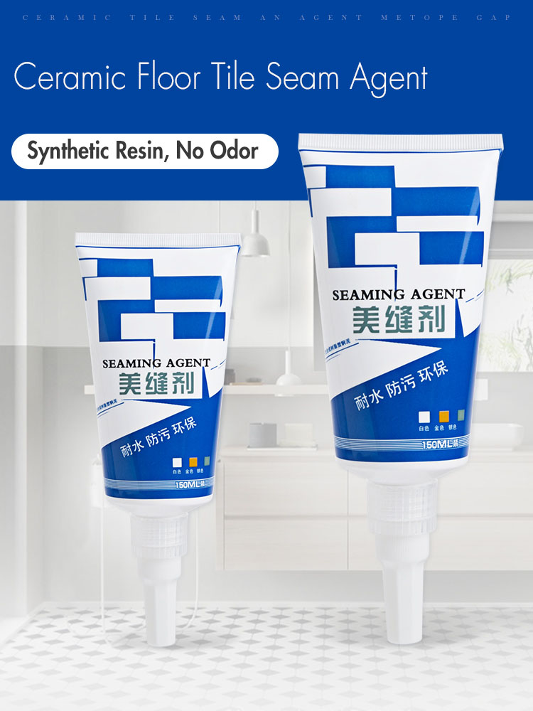 Tile Seam Beauty Agent Household Floor Tile Waterproof Mould Proof Sealant Toilet Gap Filling Pointing Glue