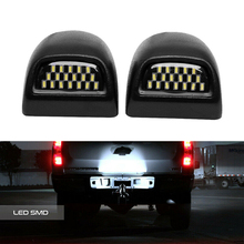 For Cadillac Escalade Chevy Avalanche GMC Sierra Light Error Free LED number License Plate LightsExterior Accessories Canbus