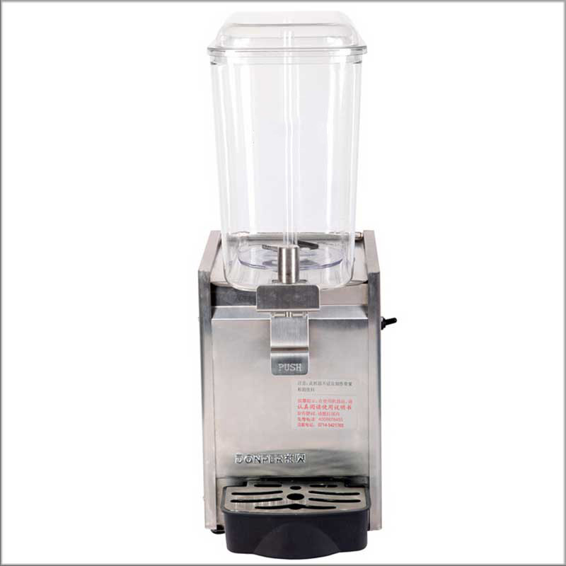 2020 Cheap Price Commercial Single Tank Fresh Juice Dispenser 18L Stainless Stell
