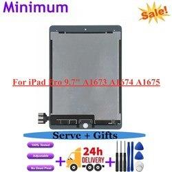 AAA + LCD Per iPad Pro 9.7 A1673 A1674 A1675 Display LCD Touch Screen Digitizer Assembly Parti di Ricambio Per iPad Pro Da 9.7 Pollici