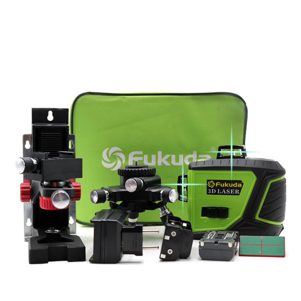 2020 New <font><b>12</b></font> Lines <font><b>3D</b></font> 93T-2-3 GX Laser Level Self-Leveling 360 Horizontal And Vertical Cross Super Powerful Green Sharp Beam Line image
