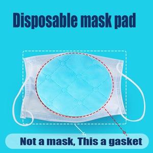 Image 1 - 50 pièces/sac trois couches masque Non tissé cale de protection filtre à Air