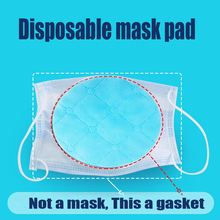 50pcs/bag Three layer Non woven Mask Protective shim Air Filter Pad
