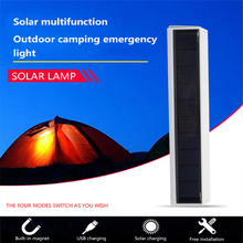 Multi-function LED Solar Lamps Emergency Light Camping Light Portable Outdoor Lighting Campfire IP65 Waterproof 4 Lighting Modes cheap oobest Campfire LED Multifunction Portable Solar energy 3 years ROHS 3 7V None LED Bulbs Modern Lithium Battery